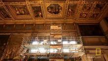 Da Vinci's Lost Painting show