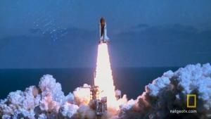 The Challenger Launch photo