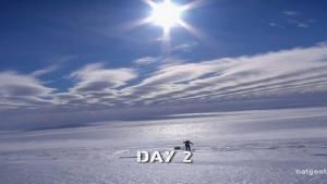 Cas and Jonesy Begin Trek to South Pole photo