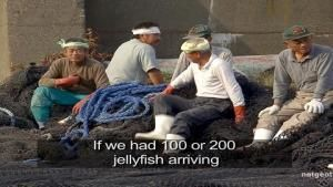 Fishermen vs. Jellyfish photo