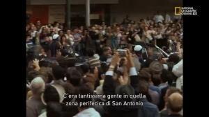Il discorso di Kennedy a San Antonio foto