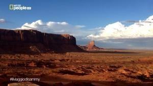 Sammy e la Monument Valley foto