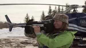 Behind the Scenes: Dr. Oakley, Yukon Cameraman photo