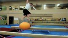 Balancing On A Ball show