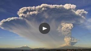 L'esplosione del Cabulco foto