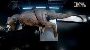 Autopsia di un T. Rex foto