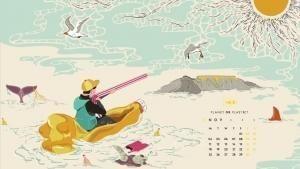 نوفمبر - الطيور أم البلاستيك؟ صورة