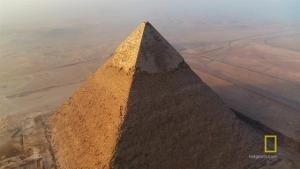 Studying The Pyramids Of Giza photo