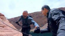 Dave Bautista In Glen Canyon, Arizona show