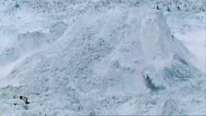 קרחונים על הקצה תמונה