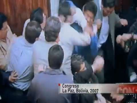 Fist Fights in Parliment