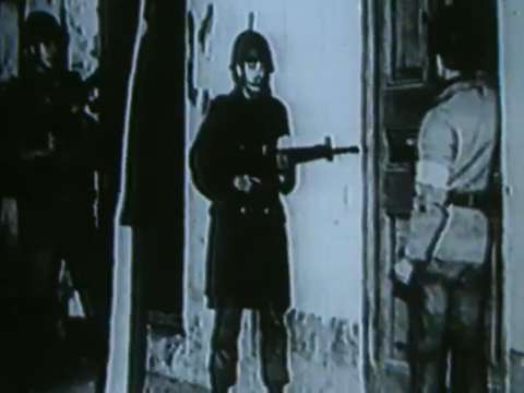 Footage from General Pinochet's Coup