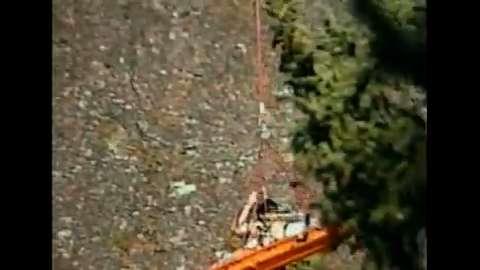 Daring Cliff Rescue