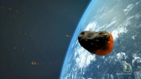 9 km long Asteroid Hit Earth