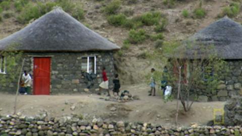 Crossing into Lesotho