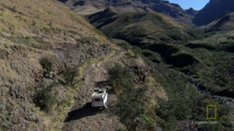Driving up Deadly Curves in No-Man's Land